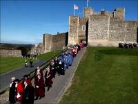 Dover-Castle-procession