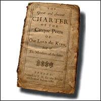 History of Cinque Ports, Charter